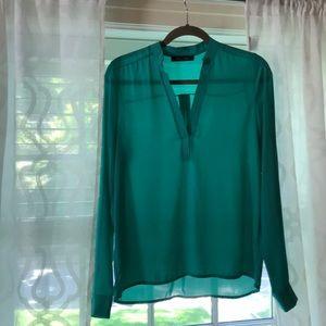Tops - Honey Punch green shirt size S.